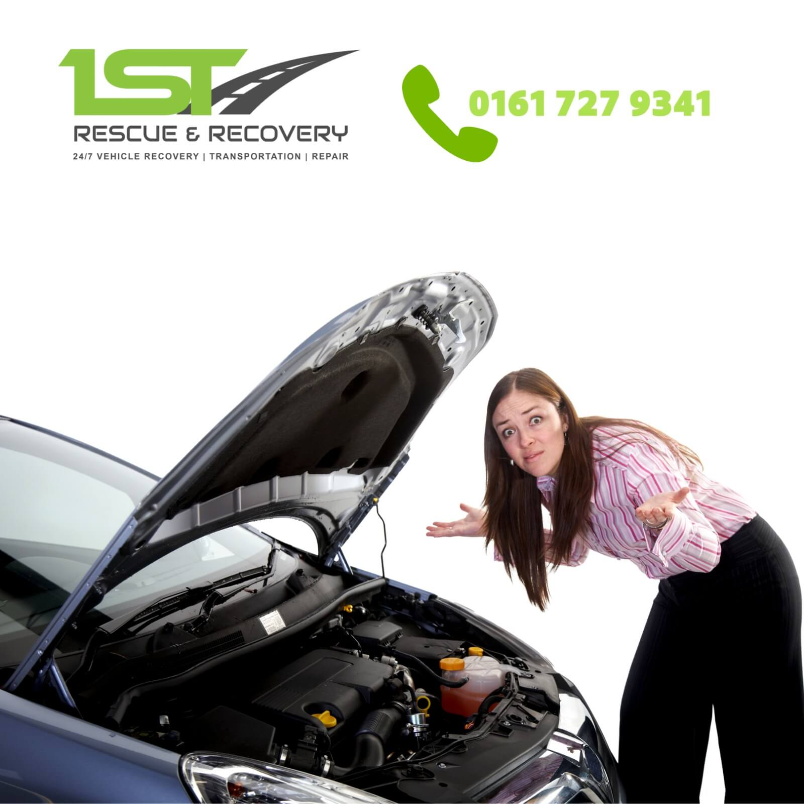 24 hour emergency Manchester breakdown recovery
